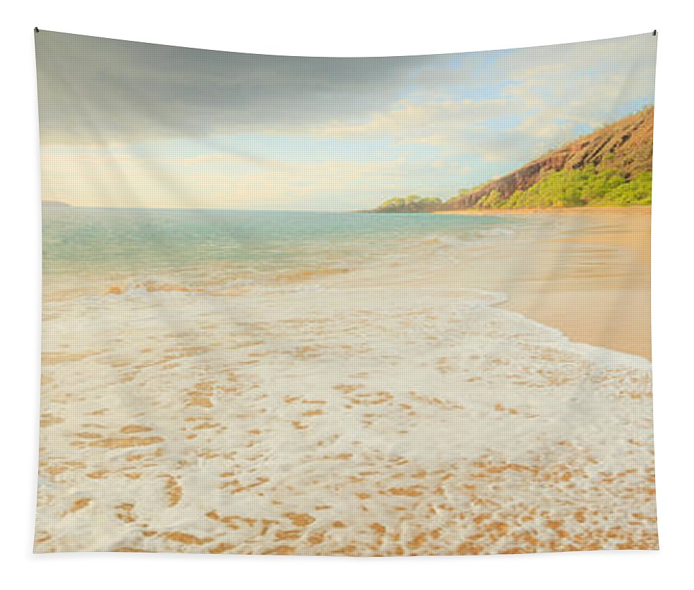 Hawaii Tapestry featuring the photograph Where I Want To Be by Edward Fielding