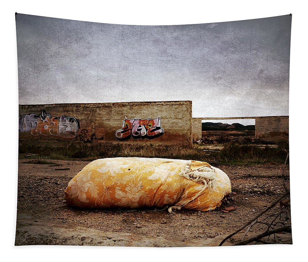 Mattres Tapestry featuring the photograph Where Were The Dreams... by RicardMN Photography