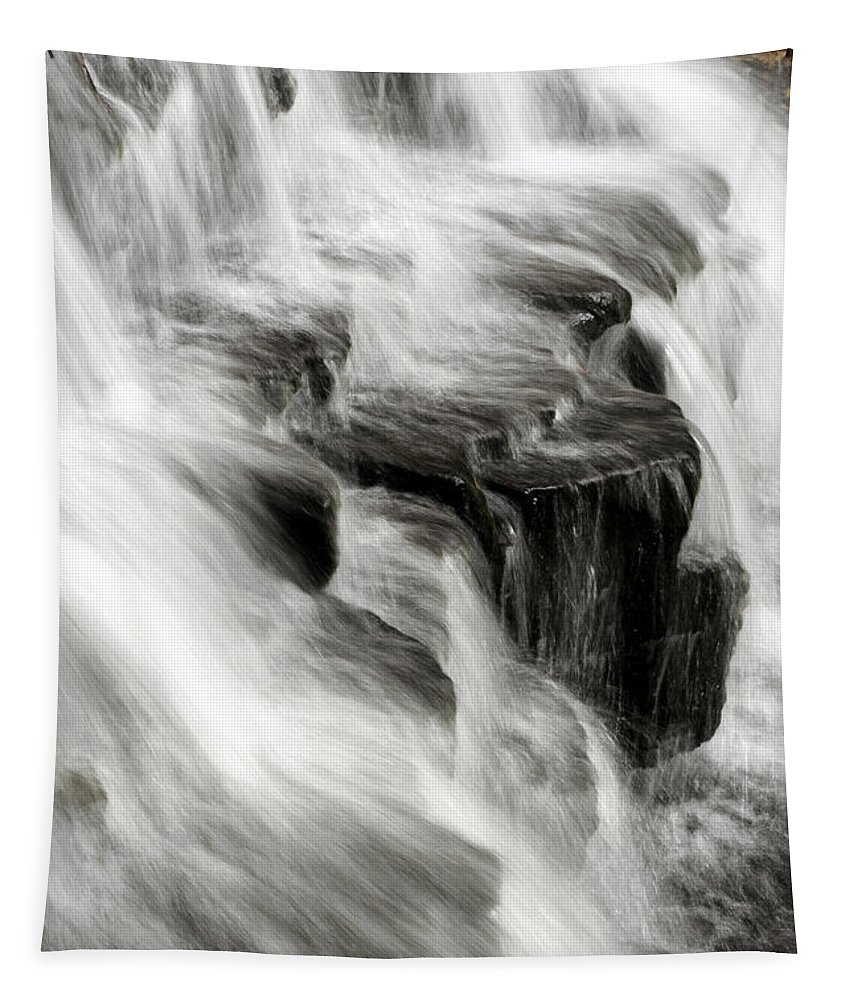 Waterfall Tapestry featuring the photograph White Water Falls by Christina Rollo