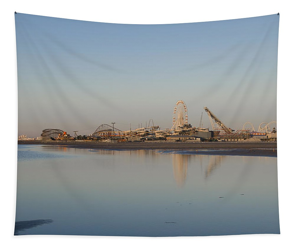 Wildwood Tapestry featuring the photograph Wildwood By The Seaside by Bill Cannon