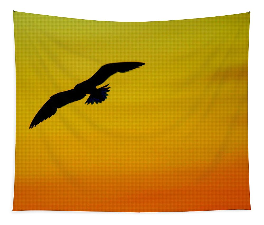 Wings Tapestry featuring the photograph Wind Beneath My Wings by Frozen in Time Fine Art Photography