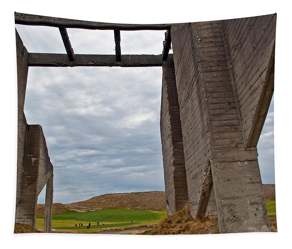 Chambers Bay Tapestry featuring the photograph Window Into The Future by Tikvah's Hope
