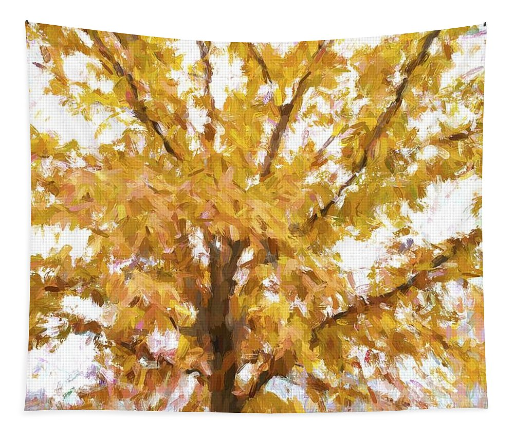 Tree Tapestry featuring the photograph Winter Final Color by Alice Gipson