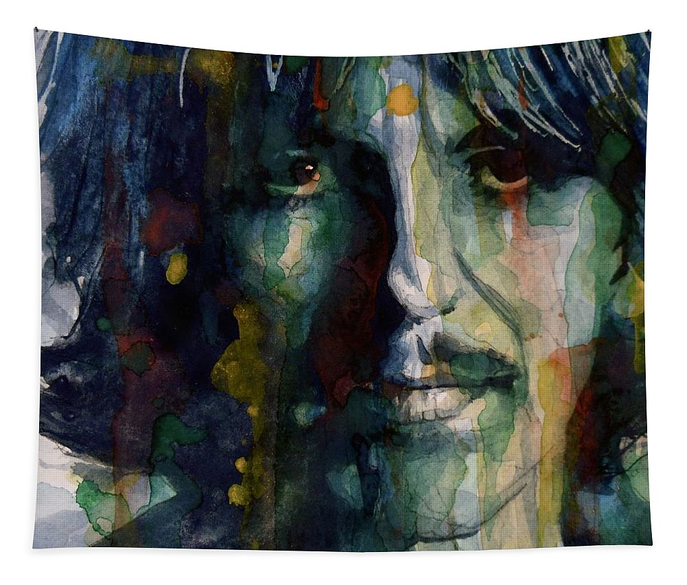 George Harrison Tapestry featuring the painting Within You Without You by Paul Lovering