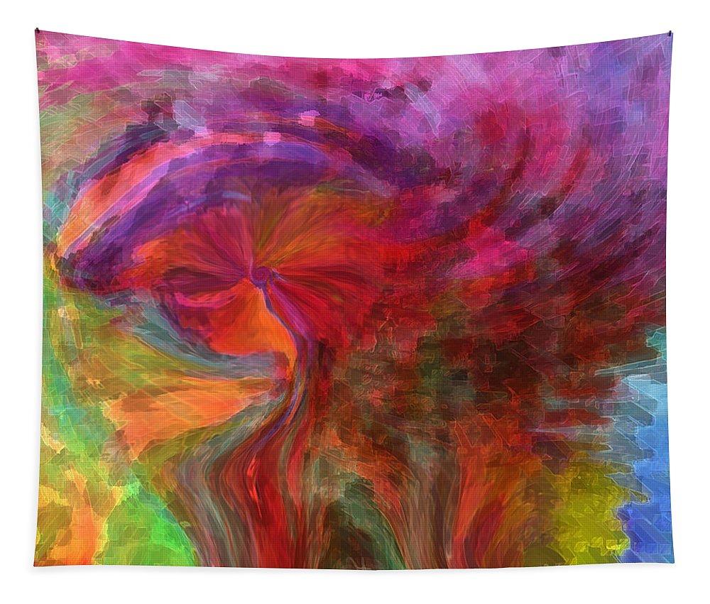 Woman Art Tapestry featuring the digital art Women by Linda Sannuti