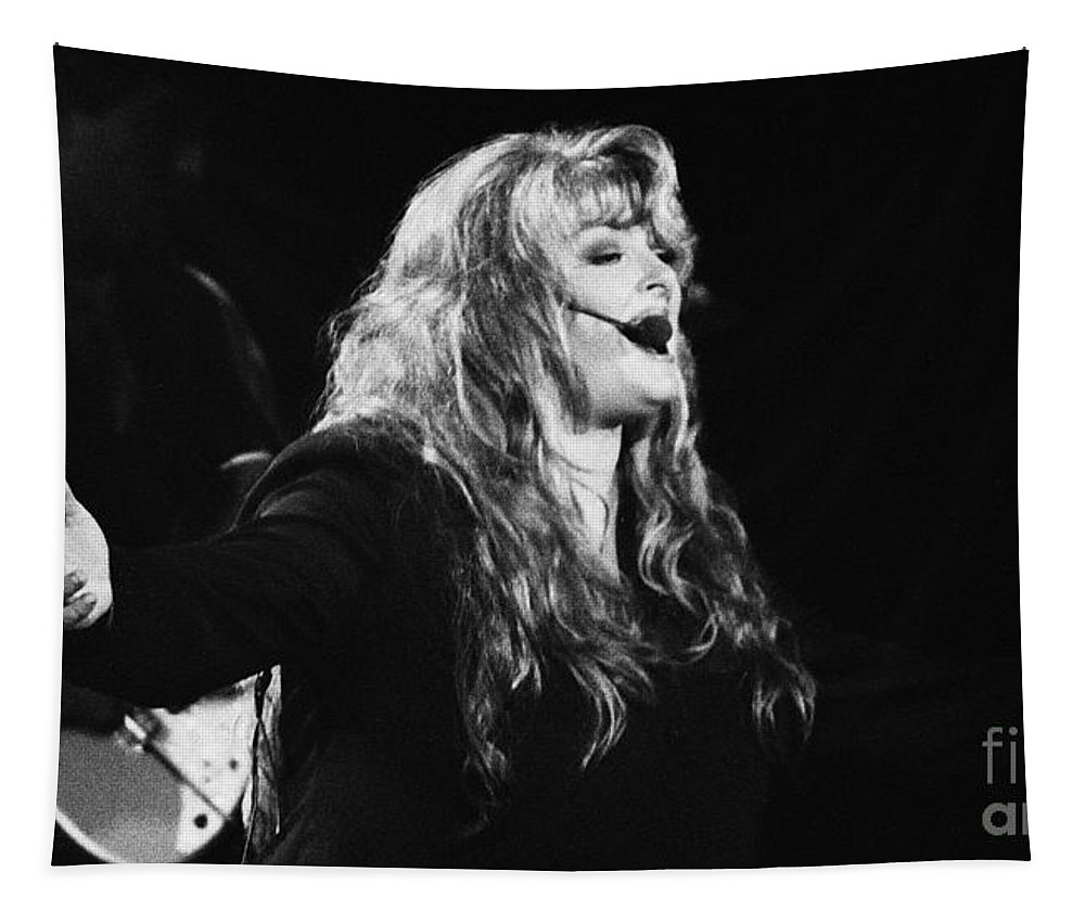Wynona Judd Tapestry featuring the photograph Wynona 41 - 1994 by Gary Gingrich Galleries