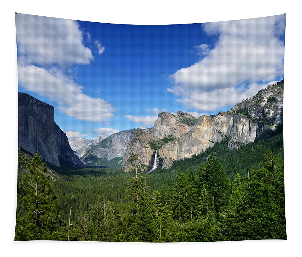 Yosemite National Park Tapestry featuring the photograph Yosemite National Park by RicardMN Photography