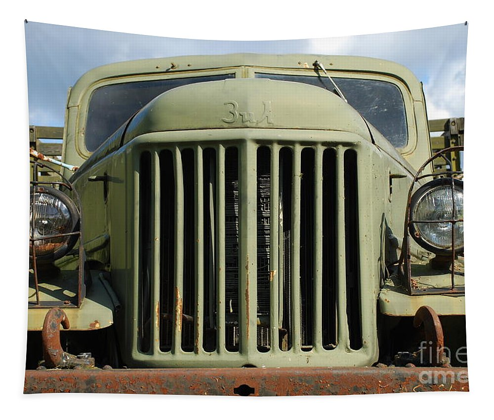 Zil Tapestry featuring the photograph Z I L - 157 by Oleg Konin