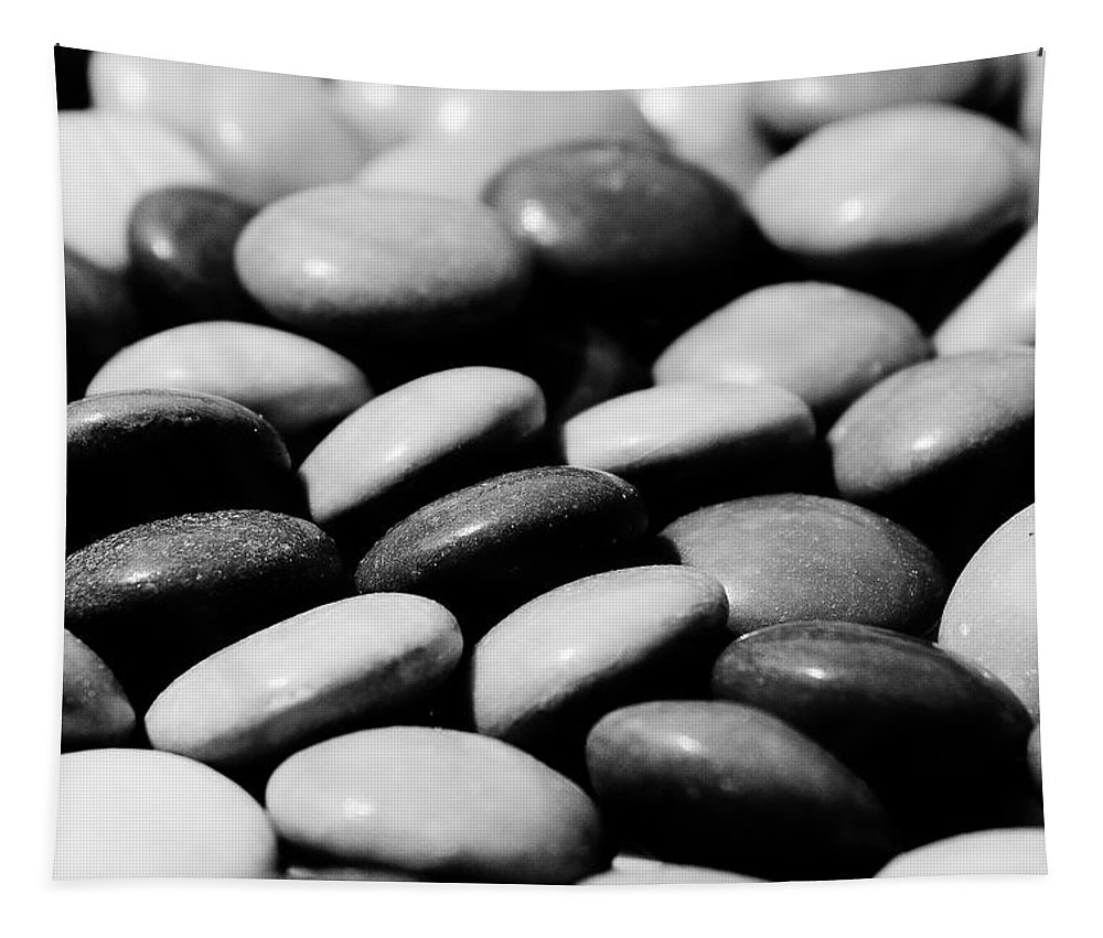 Smarties Tapestry featuring the digital art Sweet Abstract by David Pyatt
