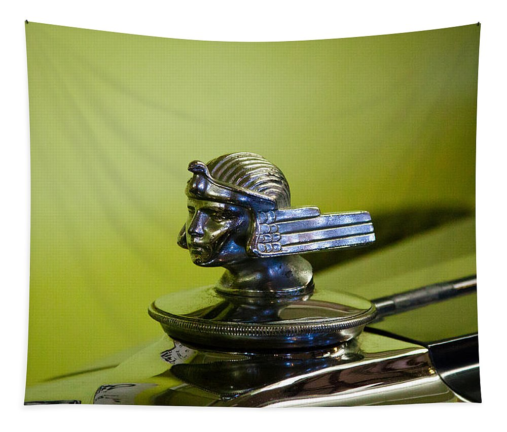 30 Tapestry featuring the photograph 1930 Stutz 4 Door Sedan Sv 16 by David Patterson