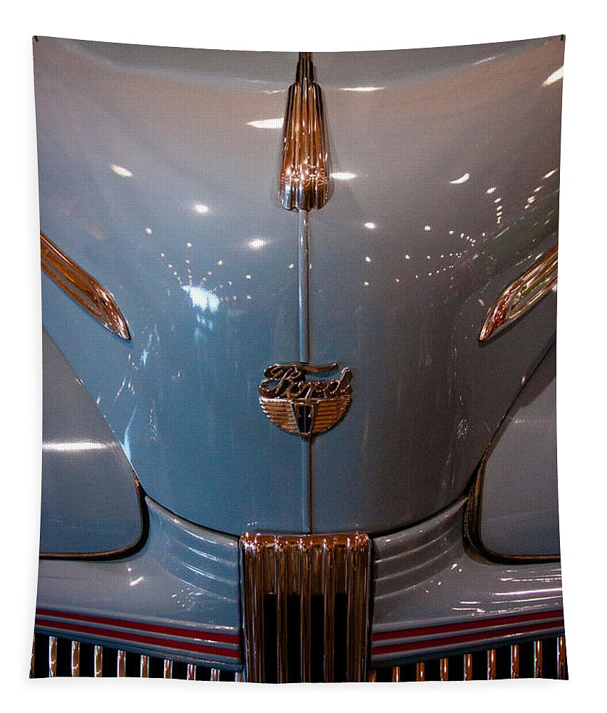 42 Tapestry featuring the photograph 1942 Ford Deluxe 2-door Club Coupe by David Patterson