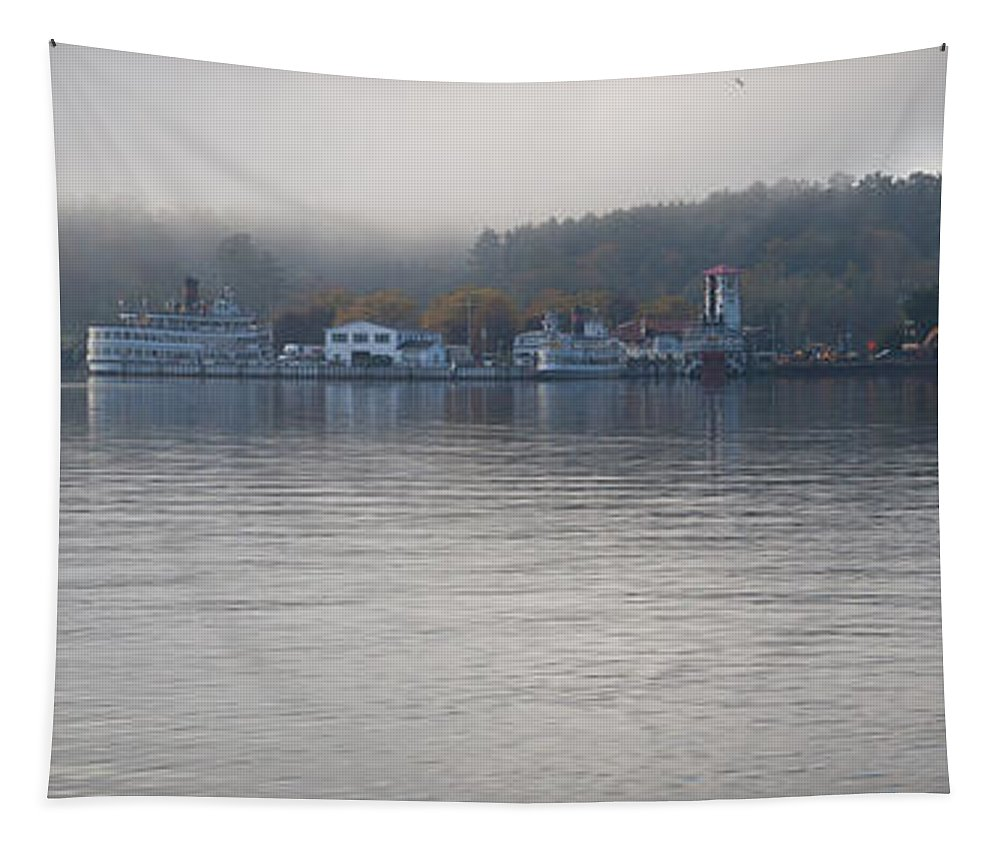 Adirondack's Tapestry featuring the photograph Lake George New York by David Patterson