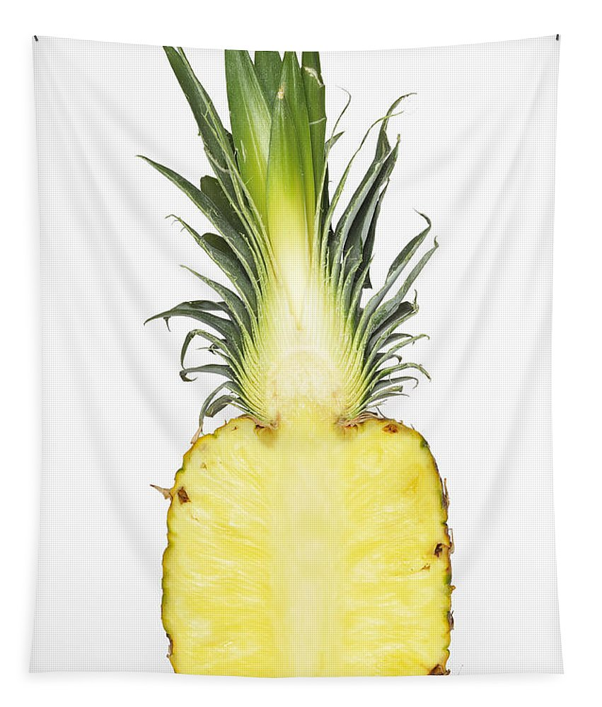 Pineapple Tapestry featuring the photograph Pineapple Ananas Comosus by Matthias Hauser