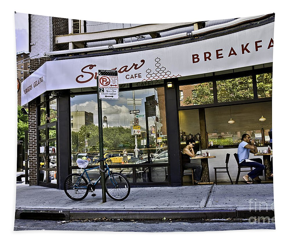 Breakfast Tapestry featuring the photograph Sugar Breakfast by Madeline Ellis