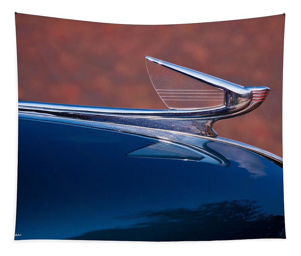 Car Tapestry featuring the photograph Wings by Christopher Holmes