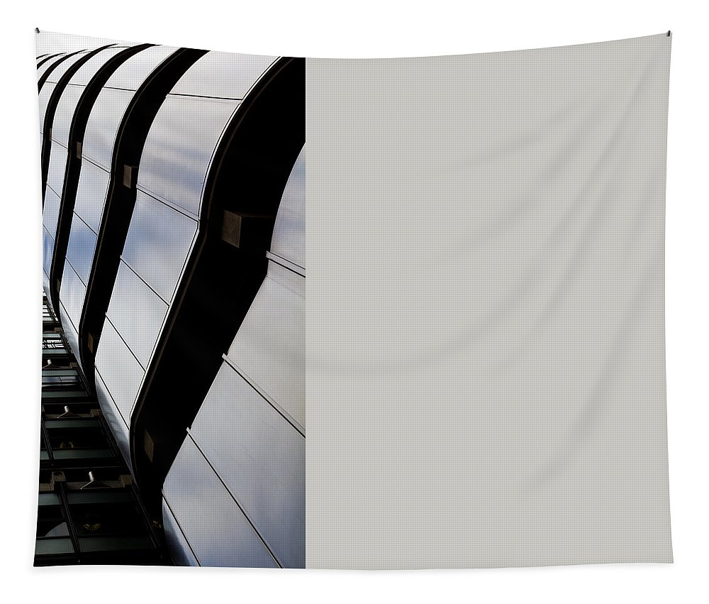 Lloyds Tapestry featuring the photograph Lloyds Building London by David Pyatt