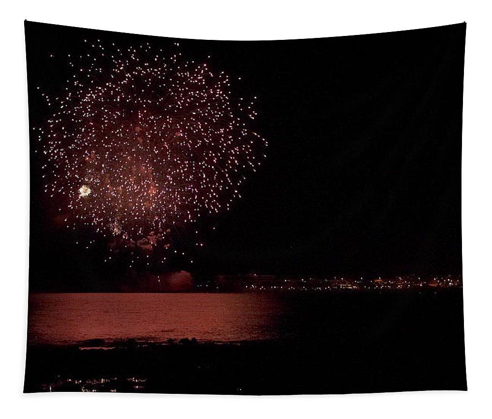 Lehtokukka Tapestry featuring the photograph Fireworks by Jouko Lehto