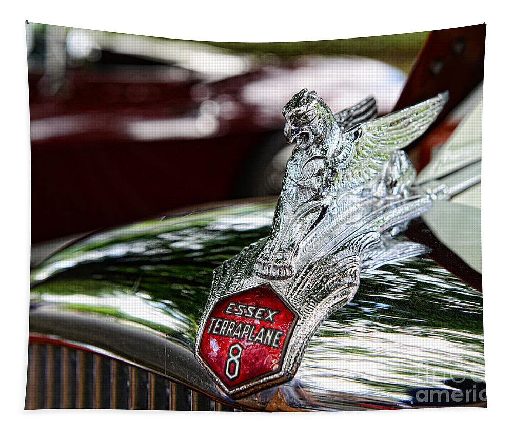 1933 Essex Terraplane 8 Tapestry featuring the photograph 1933 Essex Terraplane 8 by Paul Ward