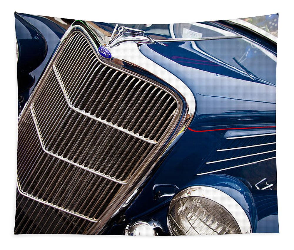 35 Tapestry featuring the photograph 1935 Ford Coupe by David Patterson