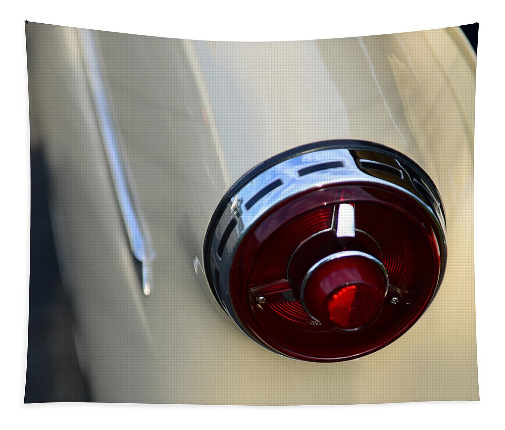 1954 Ford Customline Tapestry featuring the photograph 1954 Ford Customline Tail Light by Paul Ward