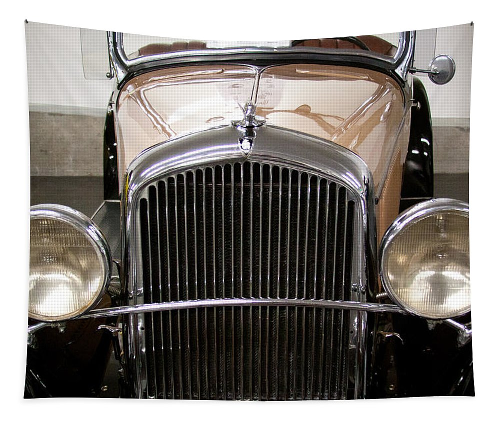31 Tapestry featuring the photograph 1931 Plymouth Pa Roadster by David Patterson
