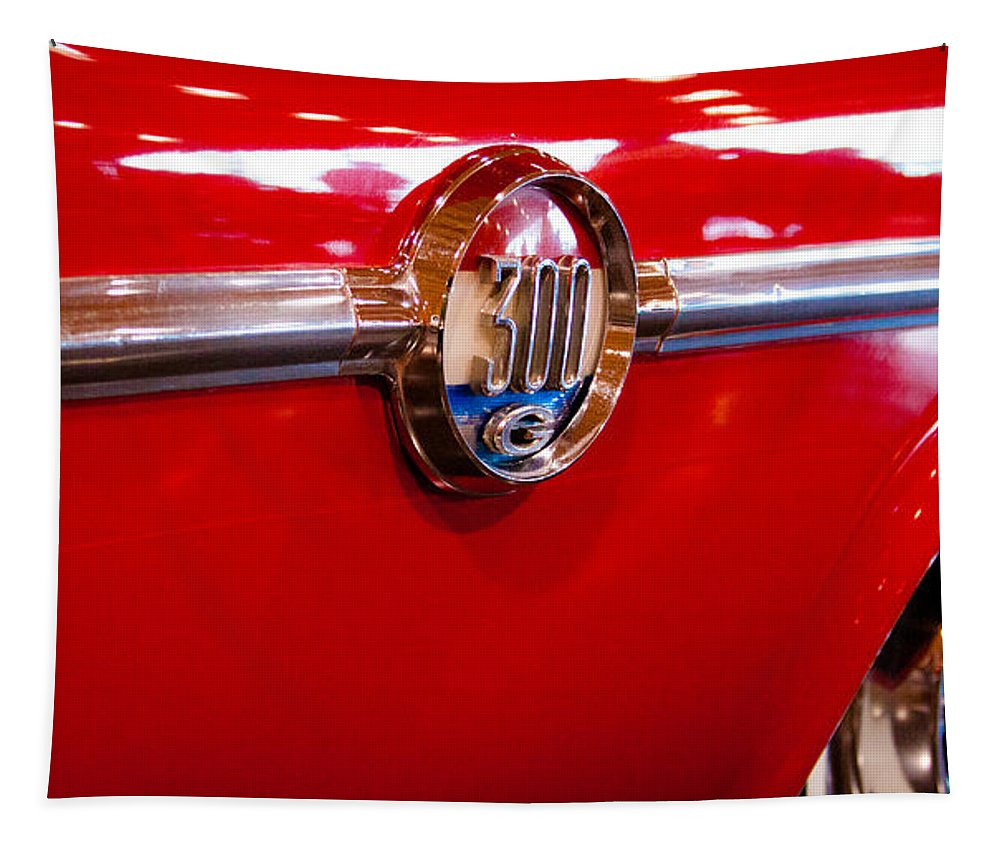 61 Tapestry featuring the photograph 1961 Chrysler 300g 2-door Hardtop by David Patterson