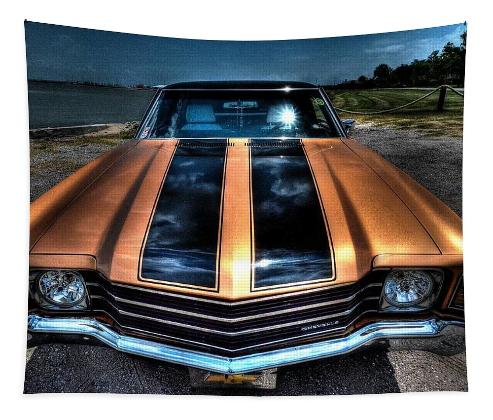 1972 Chevrolet Chevelle Tapestry featuring the photograph 1972 Chevelle by David Morefield