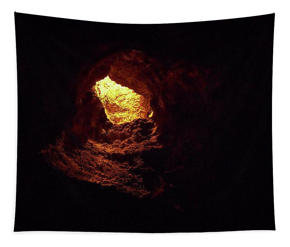 Lehtokukka Tapestry featuring the photograph Cueva De Los Verdes by Jouko Lehto