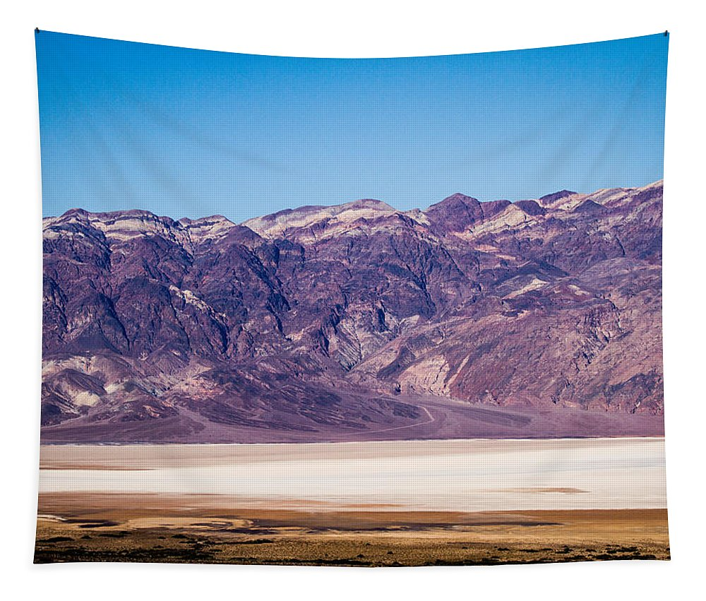 Death Valley Tapestry featuring the photograph Death Valley by Jean Noren