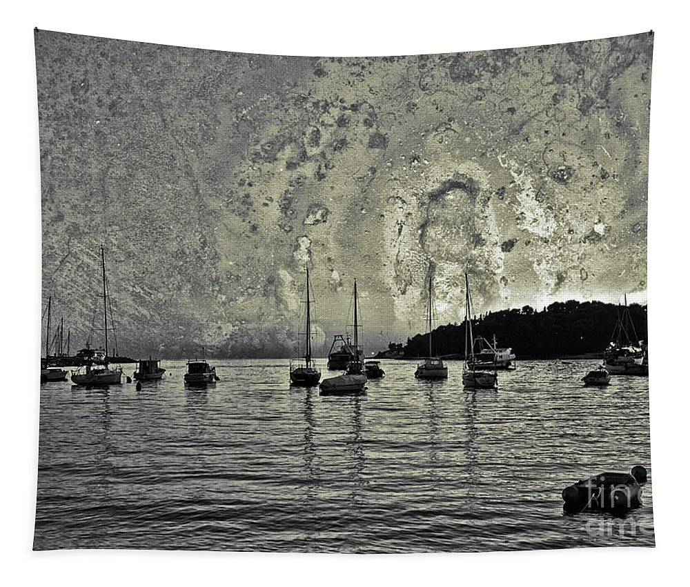 Sea Tapestry featuring the photograph Seascape by Madeline Ellis