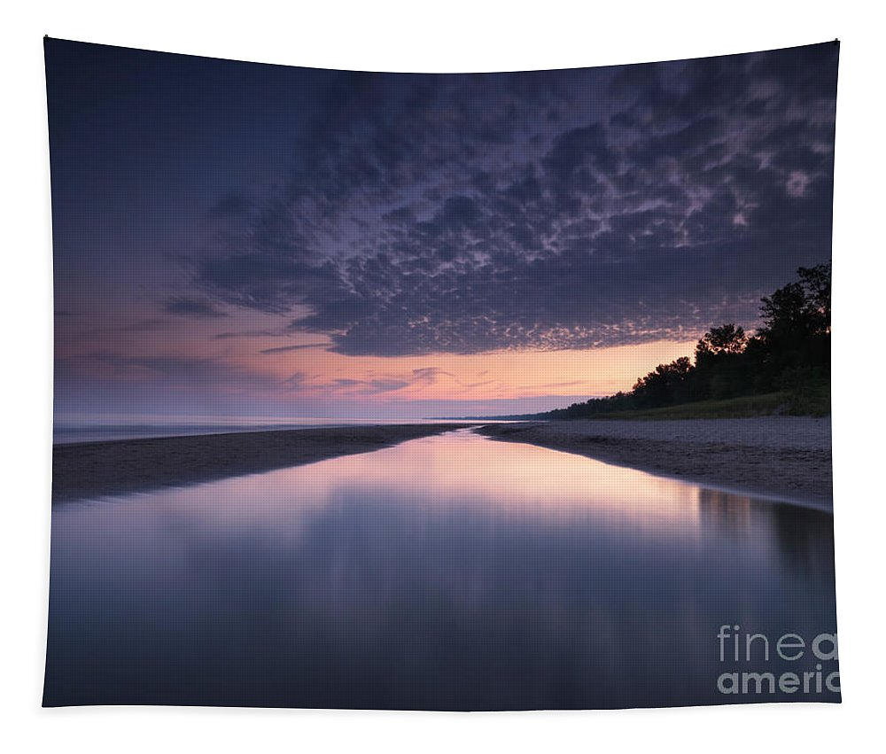 Beach Tapestry featuring the photograph Long Point Beach by Oleksiy Maksymenko