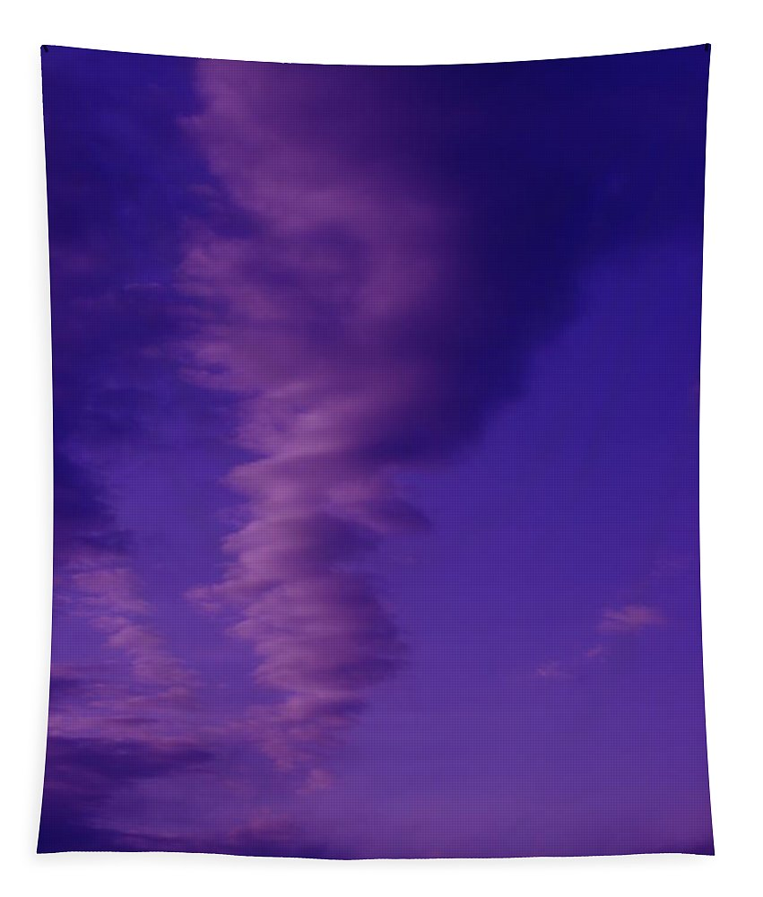 Sky Tapestry featuring the photograph A Kind Of Blue Sky by Jeff Swan