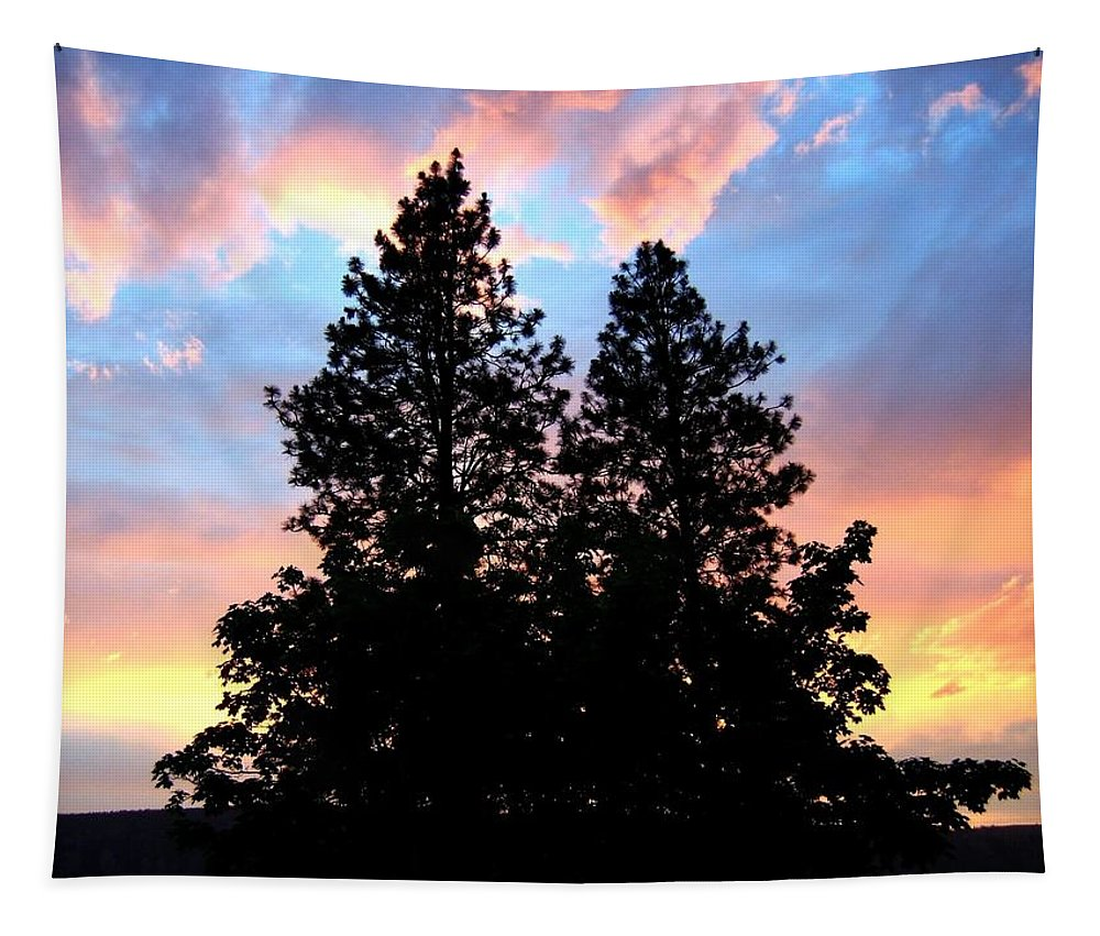 Matchless Moment Tapestry featuring the photograph A Matchless Moment by Will Borden