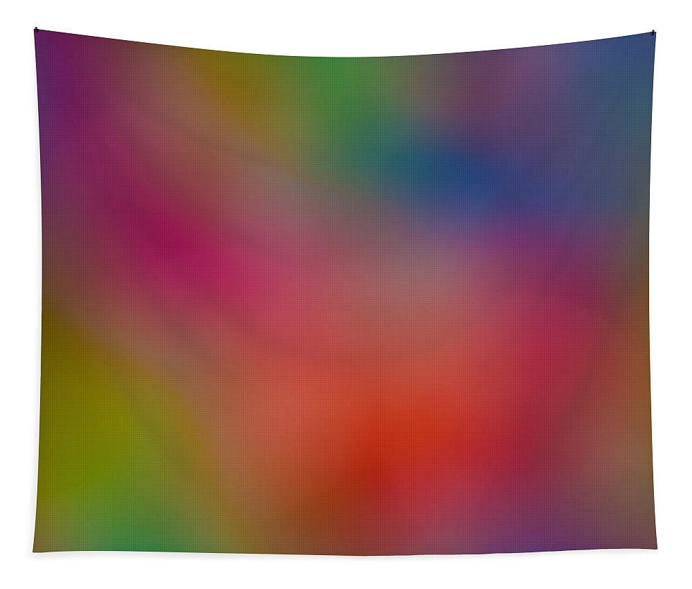 Abstract Tapestry featuring the digital art Abstract Focus by David Pyatt