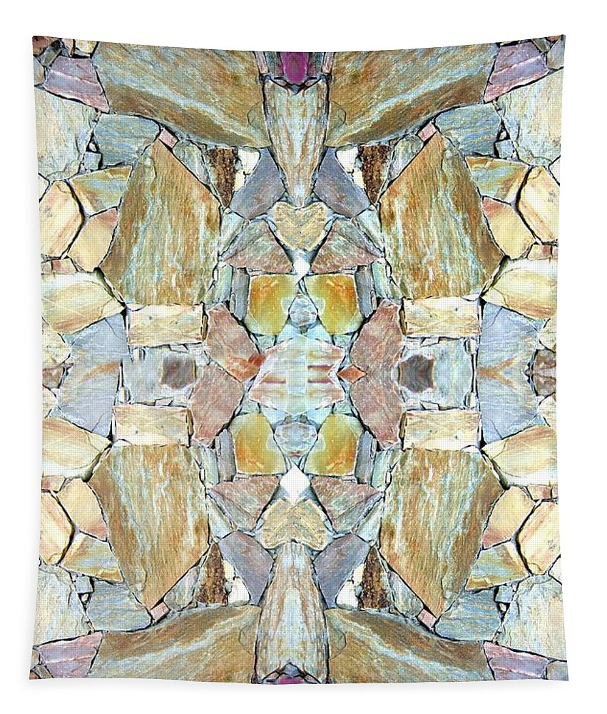 Abstract Fusion Tapestry featuring the photograph Abstract Fusion 67 by Will Borden
