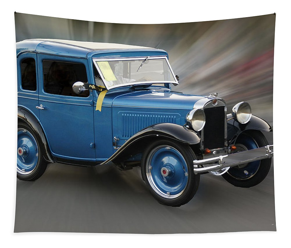 American Austin Tapestry featuring the photograph American Austin by Mick Anderson