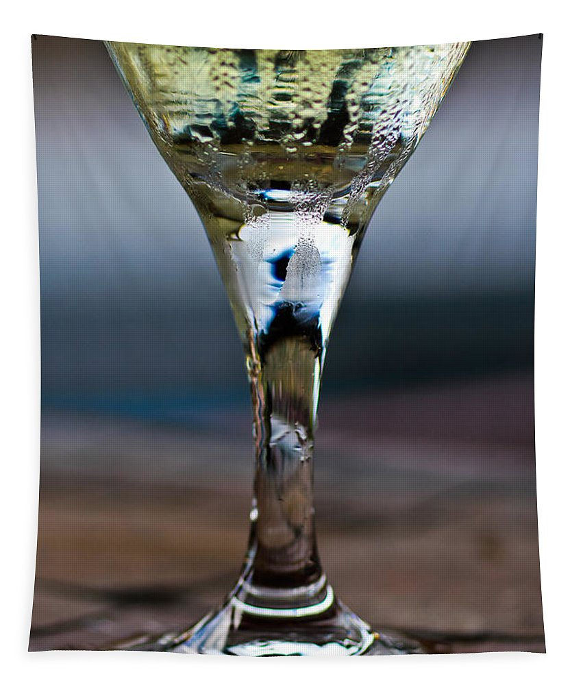 Another Chardonnay In Paradise Tapestry featuring the photograph Another Chardonnay In Paradise by Mitch Shindelbower