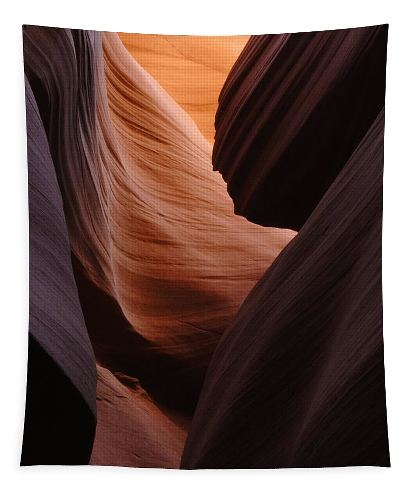 Antelope Canyon Tapestry featuring the photograph Antelope Canyon Natural Beauty by Bob Christopher