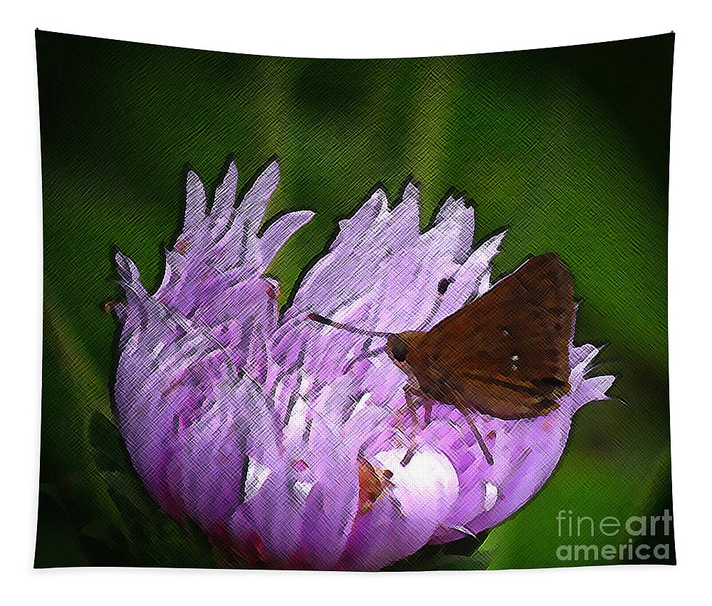 Insect Tapestry featuring the photograph Artistic by Donna Brown