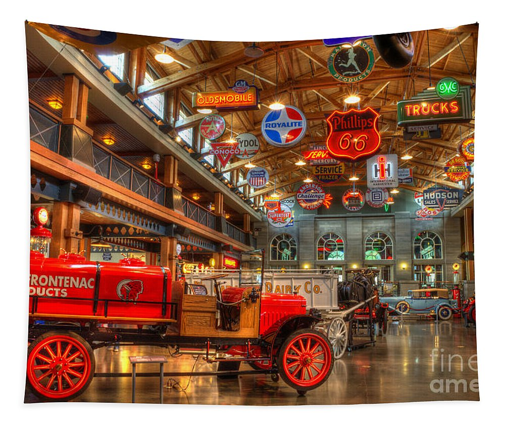 Cars Tapestry featuring the photograph Automobile Paradise by Bob Christopher