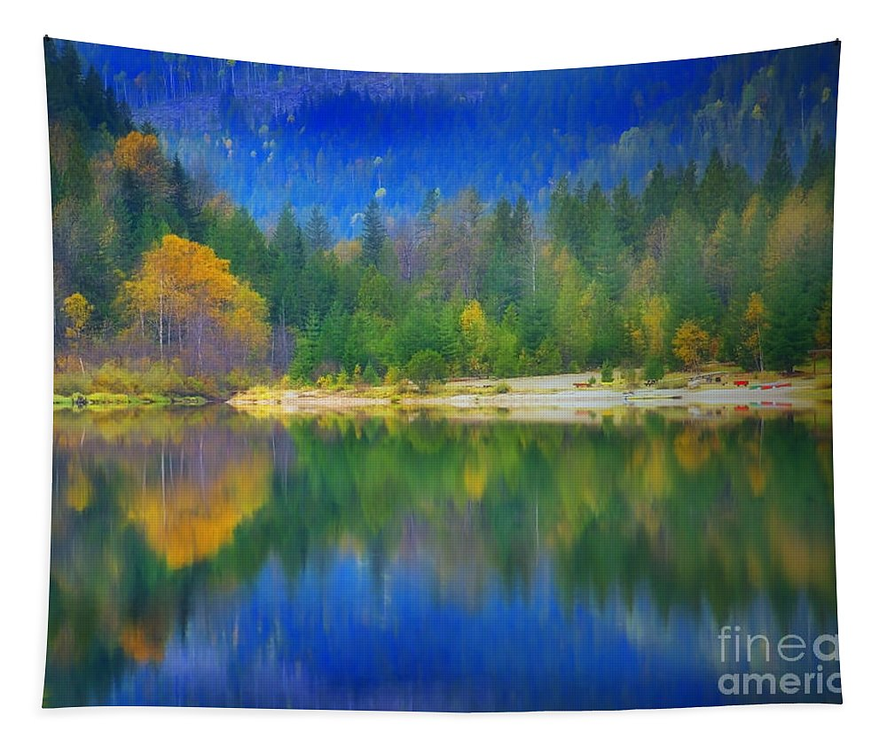 Autumn Tapestry featuring the photograph Autumn Reflected 2 by Tara Turner