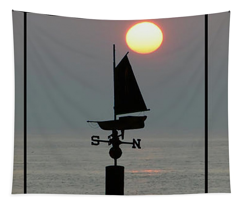Beach Weather Tapestry featuring the photograph Beach Weather by Bill Cannon