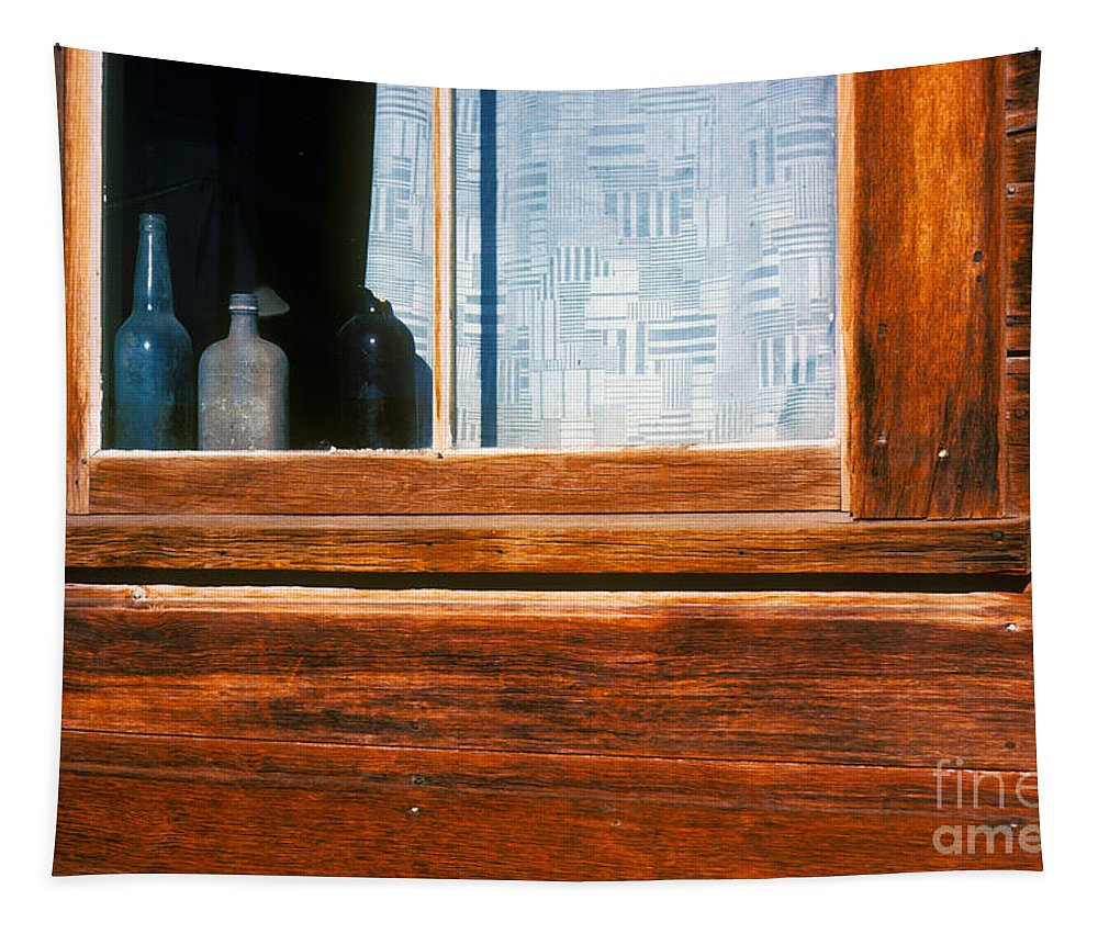 Bodie Tapestry featuring the photograph Been Long Empty by Paul W Faust - Impressions of Light
