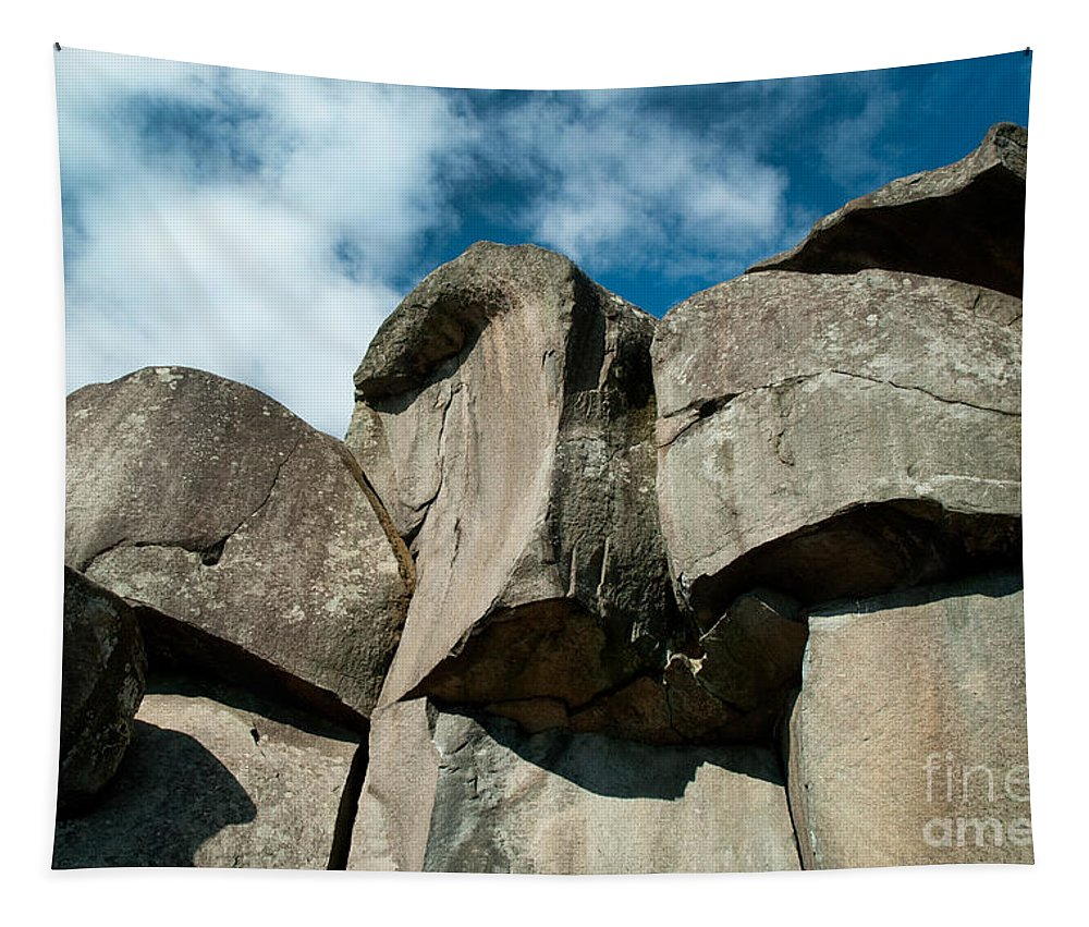 Gettysburg Tapestry featuring the photograph Big Rock Ear by Paul W Faust - Impressions of Light