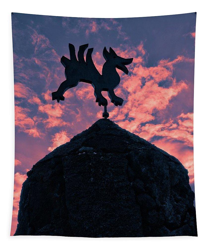 Bodega Tapestry featuring the photograph Bodegas El Grifo by Jouko Lehto