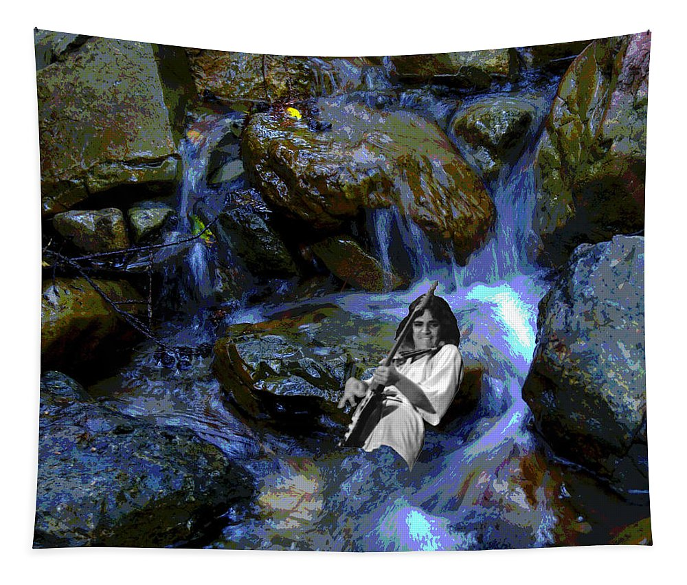 Rock Musicians Tapestry featuring the photograph Bolin Creek by Ben Upham
