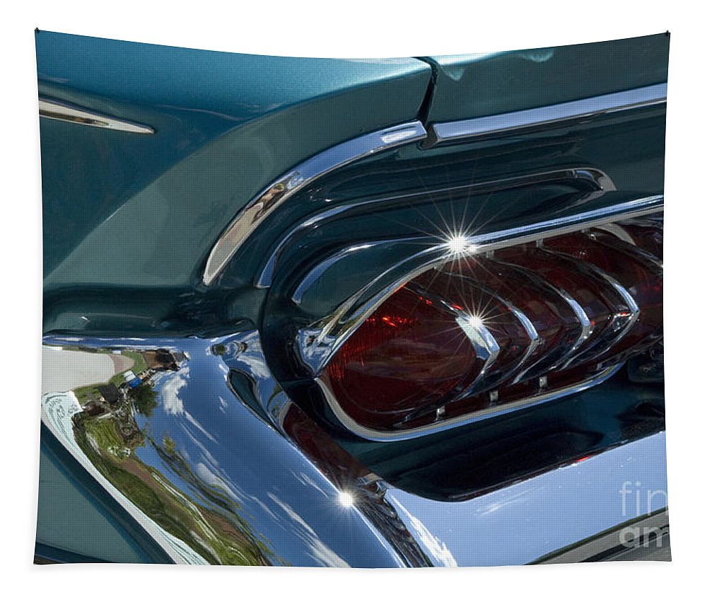 Buick Electra Tapestry featuring the photograph Buick Electra Tail Light Assembly by Bob Christopher