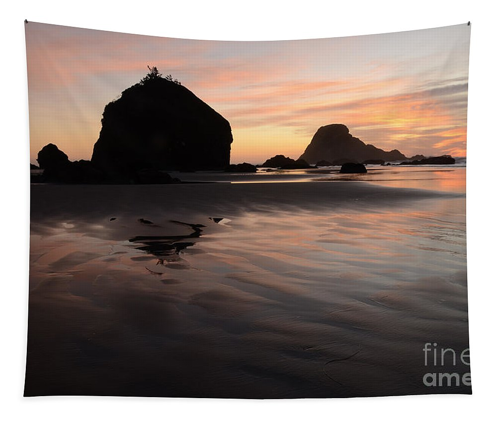 Ocean Tapestry featuring the photograph California Coast 2 by Bob Christopher