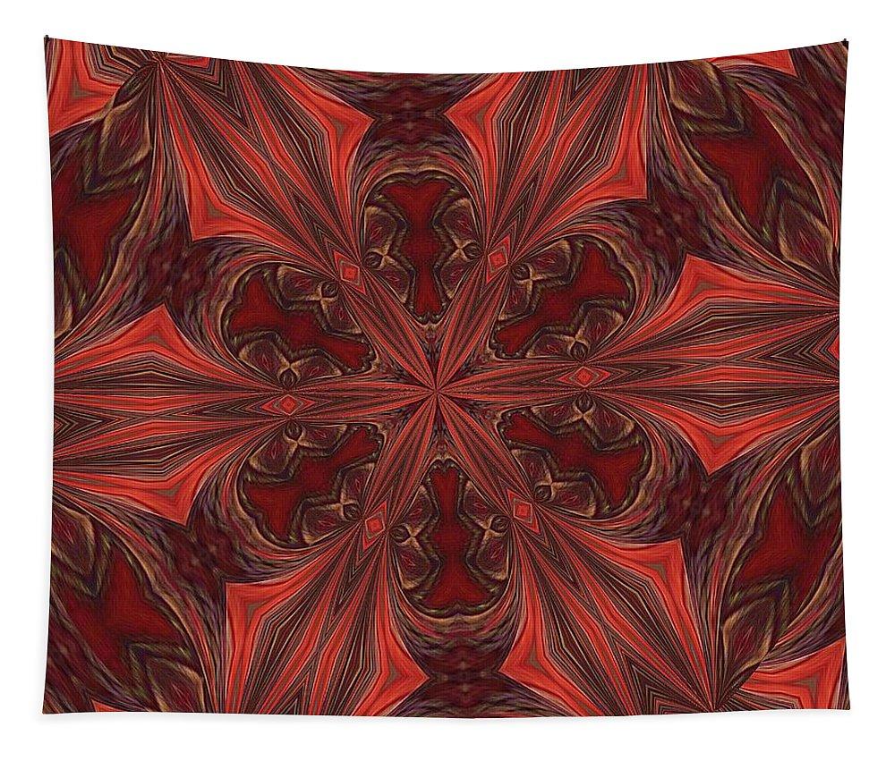 Circle Tapestry featuring the digital art Circle by John Kolenberg
