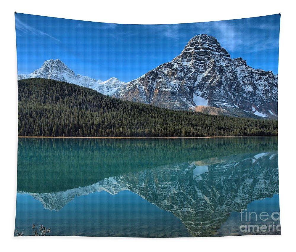 Banff Tapestry featuring the photograph Clarity by Tara Turner